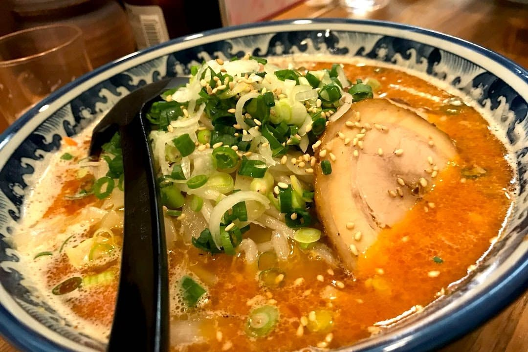 Just one of the yummy foods you can enjoy while at CiderCon - Ramen