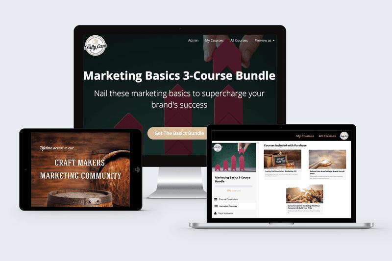 Advertisement: Marketing Basics 3-Course Bundle for Craft Makers