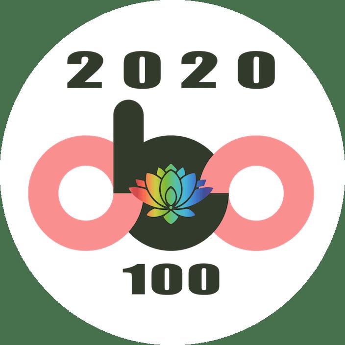 2020 obo 100 award logo